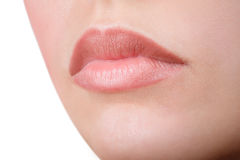 Red lipstick Royalty Free Stock Photos