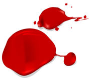 Red liquid Stock Image
