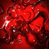 Red Liquid Royalty Free Stock Image