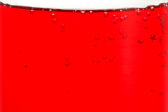 Red liquid in glass Royalty Free Stock Photo