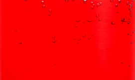 Red liquid in glass Stock Image