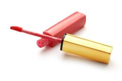 Red liquid lipstick Royalty Free Stock Images
