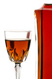 Red Liquor Royalty Free Stock Image