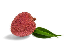 Red litchi Stock Photography
