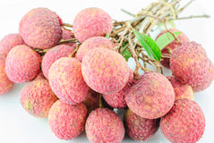 Red Litchi fruit  Royalty Free Stock Photo
