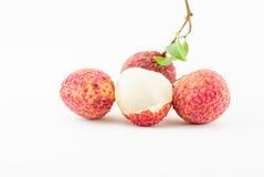 Red Litchi fruit  Stock Photos