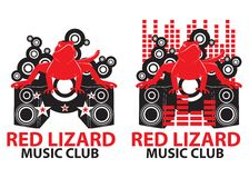 Red Lizard Music Club Stock Image