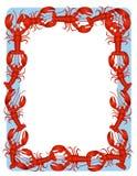 Red Lobster Border Background