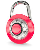 Red lock Royalty Free Stock Photos