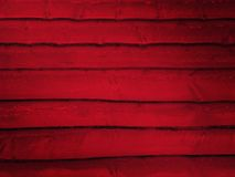 Red Log Wall Royalty Free Stock Photos