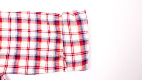 The red loincloth shirt sleeve Stock Image