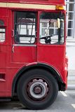 Red London Bus Cab Stock Images