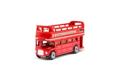 Red London Bus Royalty Free Stock Image