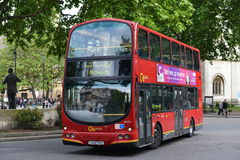 Red London Bus Royalty Free Stock Photography