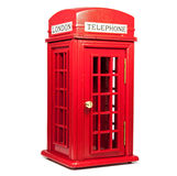 Red london telephone Royalty Free Stock Images