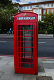 Red London Telephone Box Royalty Free Stock Photo