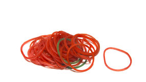 Red  Loom Bands Stock Photos