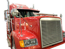 Red lorry Stock Photos