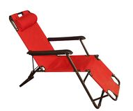 Red Lounger Royalty Free Stock Image