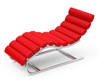 The red lounger Stock Images
