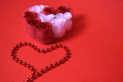 Red love Royalty Free Stock Image