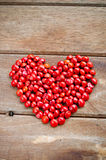 Red Love Beans Stock Image