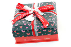 Red Love Box Royalty Free Stock Photo