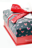 Red Love Box Stock Photography