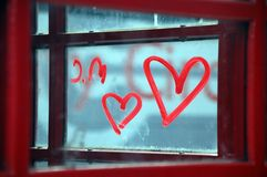 Red, Love, Font, Window Royalty Free Stock Photography