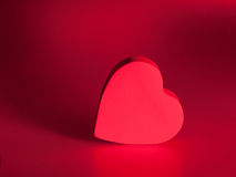 Red love heart background Royalty Free Stock Photos