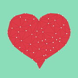 Red Love Heart Royalty Free Stock Image