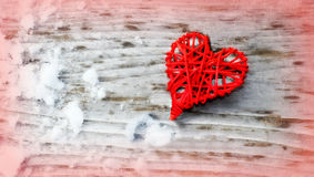 Red Love Heart Royalty Free Stock Images