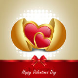 Red love heart, valentines day concept Royalty Free Stock Images