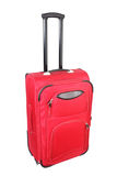 Red luggage bag Stock Image