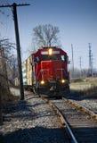 Red Lumber Train