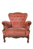 Red luxury armchair Royalty Free Stock Photography