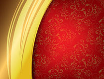 Red Luxury Background Stock Images