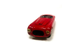 Red luxury car Royalty Free Stock Image