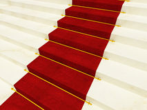 Red luxury carpet Royalty Free Stock Photography