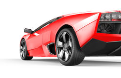 Red luxury sport car Royalty Free Stock Photo