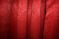 Red Luxury Textile Pattern.  stock image