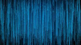 Red m?vil de l?neas con los rastros largos en el espacio, efecto de las gotas de la lluvia, representaci?n 3d, generada por orden ilustración del vector