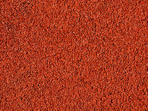 Red macadam floor. A red macadam pavement texture Stock Photos