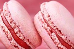 Red Macarons Stock Image
