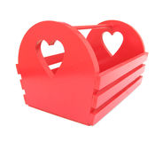 Red magazine rack Stock Images