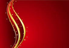 Red Magic Background Royalty Free Stock Photos