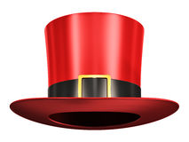 Red magic hat Royalty Free Stock Photos