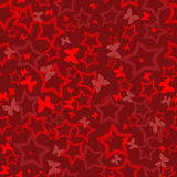Red magic light abstract background Royalty Free Stock Photos