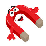 Red magnet Stock Image