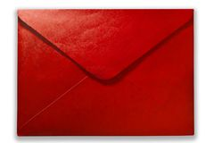 Red mail Royalty Free Stock Images